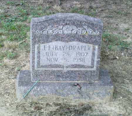 DRAPER, J. E. (BAY) - Perry County, Arkansas | J. E. (BAY) DRAPER - Arkansas Gravestone Photos