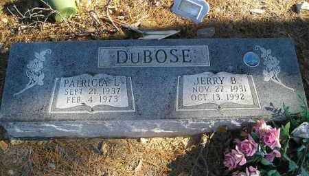 DUBOSE, PATRICA L. - Perry County, Arkansas | PATRICA L. DUBOSE - Arkansas Gravestone Photos