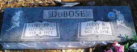DUBOSE, JERRY B. - Perry County, Arkansas | JERRY B. DUBOSE - Arkansas Gravestone Photos