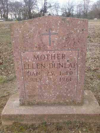 BUNKER DUNLAP, NANCY ELLEN - Perry County, Arkansas | NANCY ELLEN BUNKER DUNLAP - Arkansas Gravestone Photos