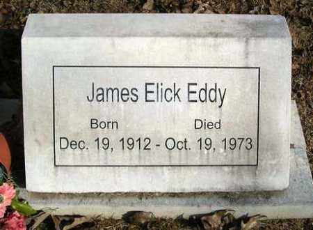 EDDY, JAMES ELICK - Perry County, Arkansas | JAMES ELICK EDDY - Arkansas Gravestone Photos