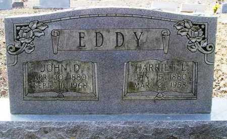 EDDY, JOHN D. - Perry County, Arkansas | JOHN D. EDDY - Arkansas Gravestone Photos