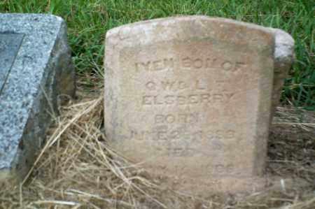 ELSBERY, IVEN - Perry County, Arkansas | IVEN ELSBERY - Arkansas Gravestone Photos