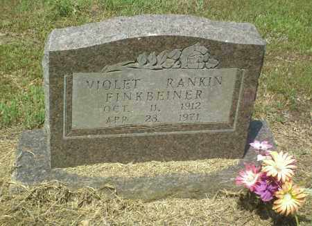 RANKIN FINKBEINER, VIOLET - Perry County, Arkansas | VIOLET RANKIN FINKBEINER - Arkansas Gravestone Photos