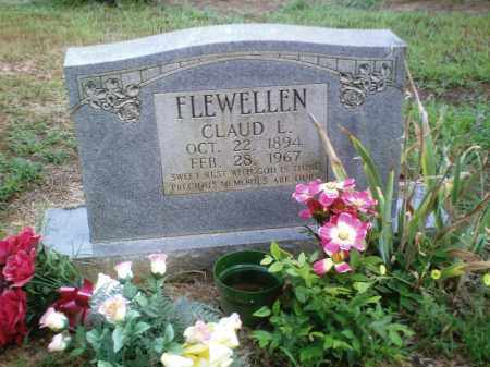 FLEWELLEN, CLAUD L. - Perry County, Arkansas | CLAUD L. FLEWELLEN - Arkansas Gravestone Photos