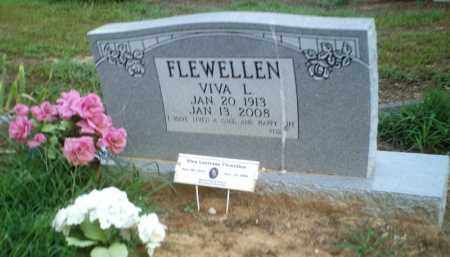 FLEWELLEN, VIVA L. - Perry County, Arkansas | VIVA L. FLEWELLEN - Arkansas Gravestone Photos
