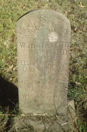 FORD, WILLIAM H. - Perry County, Arkansas | WILLIAM H. FORD - Arkansas Gravestone Photos