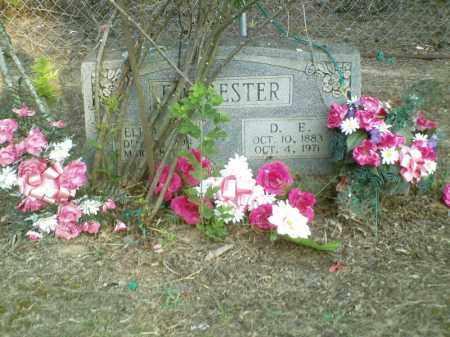 FORRESTER, D. E. - Perry County, Arkansas | D. E. FORRESTER - Arkansas Gravestone Photos