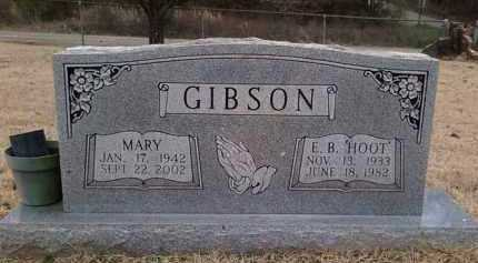 "GIBSON, E. B. ""HOOT"" - Perry County, Arkansas 