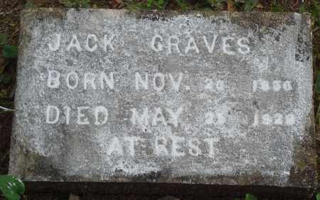 GRAVES, JACK - Perry County, Arkansas | JACK GRAVES - Arkansas Gravestone Photos