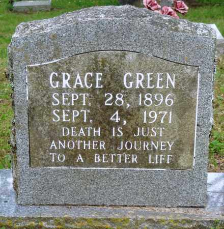 GREEN, GRACE - Perry County, Arkansas | GRACE GREEN - Arkansas Gravestone Photos