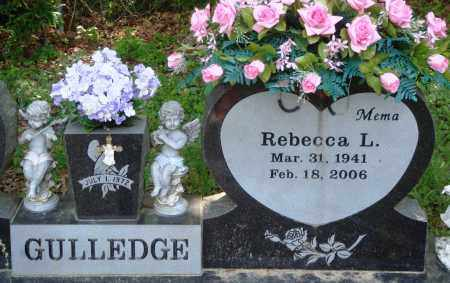 GULLEDGE, REBECCA L - Perry County, Arkansas | REBECCA L GULLEDGE - Arkansas Gravestone Photos