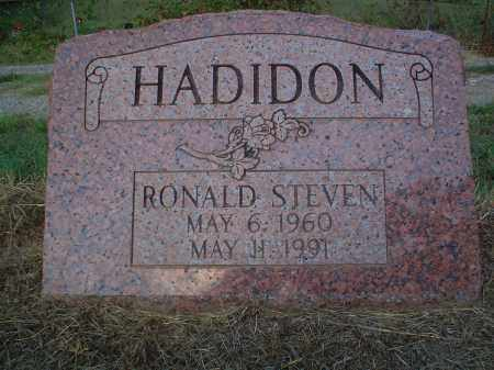 HADIDON, RONALD STEVEN - Perry County, Arkansas | RONALD STEVEN HADIDON - Arkansas Gravestone Photos