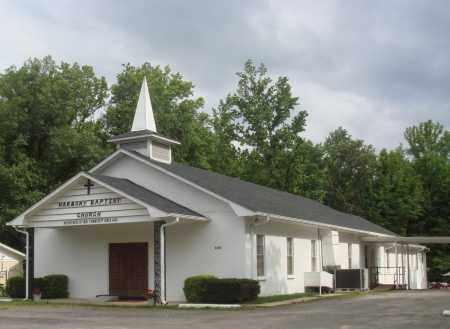 *HARMONY BAPTIST CHURCH,  - Perry County, Arkansas    *HARMONY BAPTIST CHURCH - Arkansas Gravestone Photos