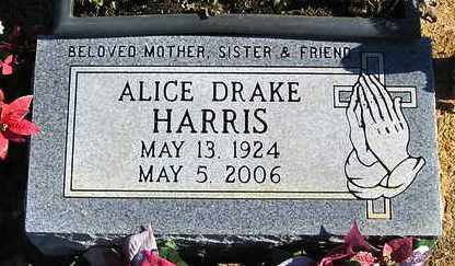 HARRIS, ALICE - Perry County, Arkansas | ALICE HARRIS - Arkansas Gravestone Photos