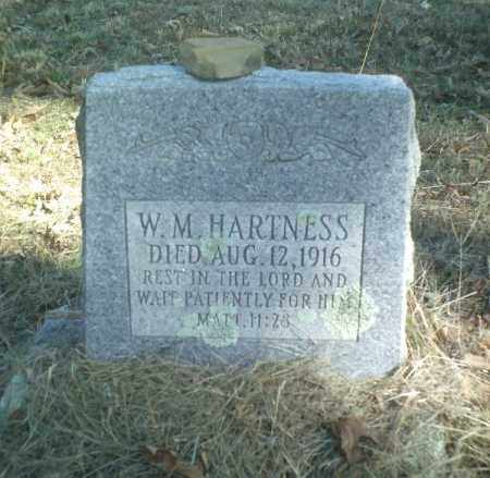 HARTNESS, W M - Perry County, Arkansas | W M HARTNESS - Arkansas Gravestone Photos