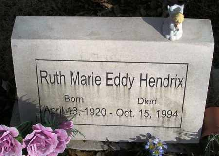 HENDRIX, RUTH MARIE - Perry County, Arkansas | RUTH MARIE HENDRIX - Arkansas Gravestone Photos