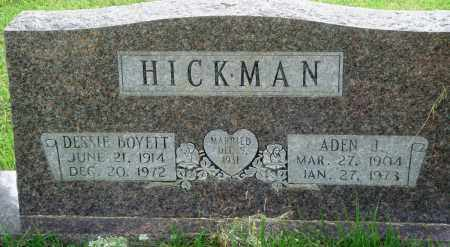 HICKMAN, ADEN J - Perry County, Arkansas | ADEN J HICKMAN - Arkansas Gravestone Photos