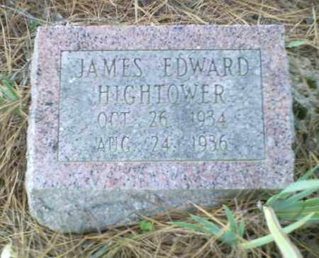 HIGHTOWER, JAMES EDWARD - Perry County, Arkansas | JAMES EDWARD HIGHTOWER - Arkansas Gravestone Photos