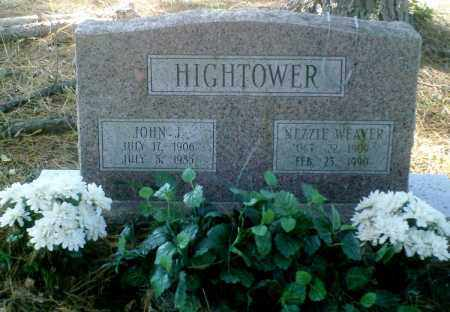 WEAVER HIGHTOWER, NEZZIE - Perry County, Arkansas | NEZZIE WEAVER HIGHTOWER - Arkansas Gravestone Photos