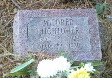 HIGHTOWER, MILDRED - Perry County, Arkansas | MILDRED HIGHTOWER - Arkansas Gravestone Photos