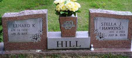 HILL, LENARD K - Perry County, Arkansas | LENARD K HILL - Arkansas Gravestone Photos