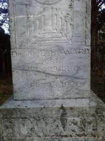 HOWARD, MANCHIE E. - Perry County, Arkansas   MANCHIE E. HOWARD - Arkansas Gravestone Photos
