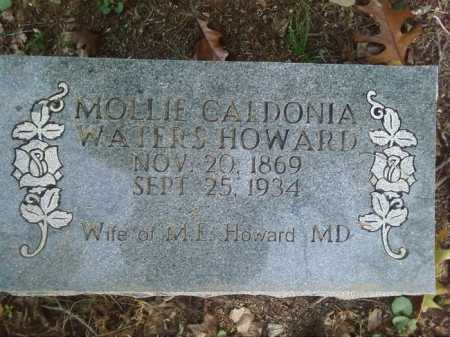 HOWARD, MOLLIE CALDONIA - Perry County, Arkansas | MOLLIE CALDONIA HOWARD - Arkansas Gravestone Photos