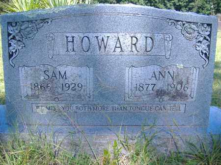 HOWARD, SAM - Perry County, Arkansas | SAM HOWARD - Arkansas Gravestone Photos