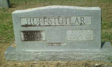 HUFFSTUTLAR, GEORGE W. - Perry County, Arkansas | GEORGE W. HUFFSTUTLAR - Arkansas Gravestone Photos