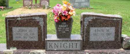 KNIGHT, JOHN H - Perry County, Arkansas | JOHN H KNIGHT - Arkansas Gravestone Photos