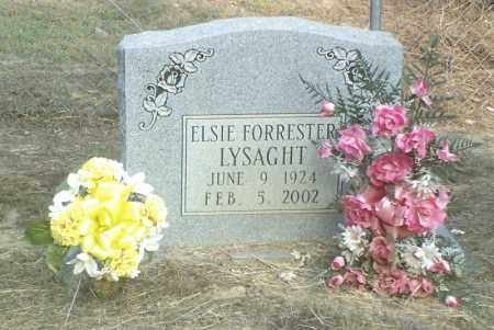 FORRESTER LYSAGHT, ELSIE - Perry County, Arkansas | ELSIE FORRESTER LYSAGHT - Arkansas Gravestone Photos