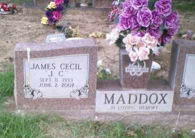 "MADDOX, JAMES CECIL ""J.C."" - Perry County, Arkansas 