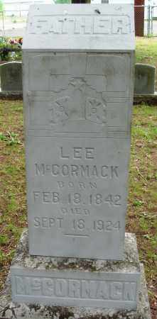 MCCORMACK, LEE - Perry County, Arkansas | LEE MCCORMACK - Arkansas Gravestone Photos