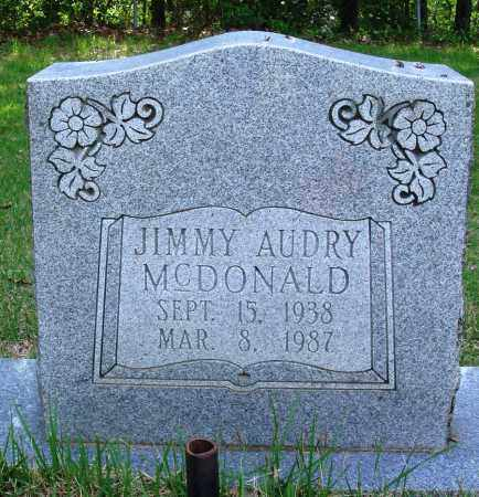 MCDONALD, JIMMY AUDRY - Perry County, Arkansas | JIMMY AUDRY MCDONALD - Arkansas Gravestone Photos