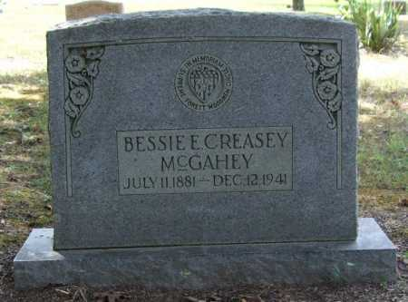 MCGEAHEY, BESSIE E. - Perry County, Arkansas | BESSIE E. MCGEAHEY - Arkansas Gravestone Photos
