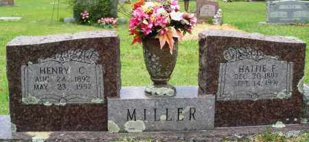 MILLER, HENRY C - Perry County, Arkansas | HENRY C MILLER - Arkansas Gravestone Photos