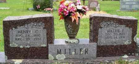 MILLER, HATTIE F - Perry County, Arkansas | HATTIE F MILLER - Arkansas Gravestone Photos
