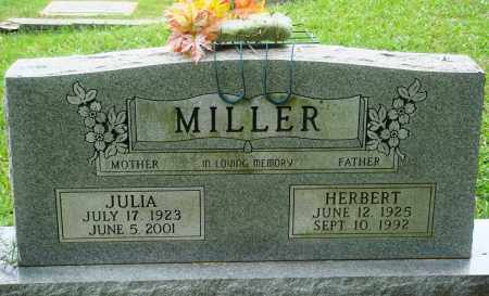 MILLER, JULIA - Perry County, Arkansas | JULIA MILLER - Arkansas Gravestone Photos