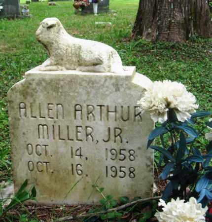 MILLER, JR, ALLEN ARTHUR - Perry County, Arkansas | ALLEN ARTHUR MILLER, JR - Arkansas Gravestone Photos