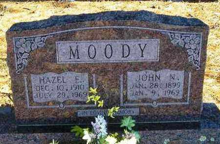 MOODY, HAZEL E. - Perry County, Arkansas | HAZEL E. MOODY - Arkansas Gravestone Photos