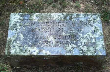 MYERS, GLEN SHEPHERD - Perry County, Arkansas | GLEN SHEPHERD MYERS - Arkansas Gravestone Photos