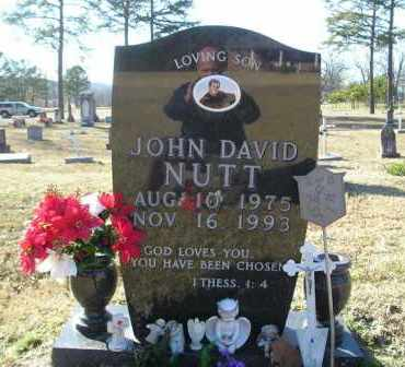 NUTT, JOHN DAVID - Perry County, Arkansas | JOHN DAVID NUTT - Arkansas Gravestone Photos