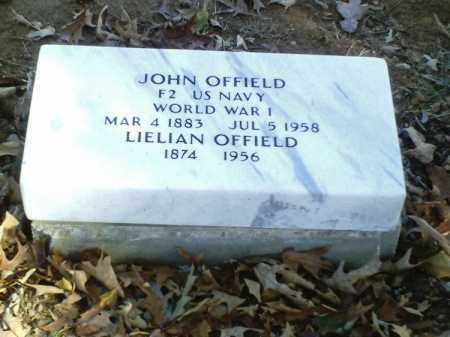 OFFIELD  (VETERAN WWI), JOHN - Perry County, Arkansas | JOHN OFFIELD  (VETERAN WWI) - Arkansas Gravestone Photos