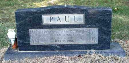 TARVIN PAUL, GRACE - Perry County, Arkansas | GRACE TARVIN PAUL - Arkansas Gravestone Photos