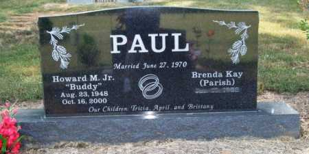"PAUL, JR., HOWARD M. ""BUDDY"" - Perry County, Arkansas 