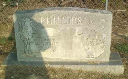 PHILLIPS, MARVIN ALEE - Perry County, Arkansas | MARVIN ALEE PHILLIPS - Arkansas Gravestone Photos