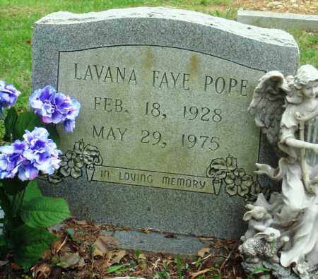POPE, LAVANA FAYE - Perry County, Arkansas | LAVANA FAYE POPE - Arkansas Gravestone Photos