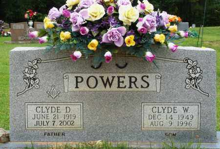 POWERS, CLYDE D - Perry County, Arkansas | CLYDE D POWERS - Arkansas Gravestone Photos
