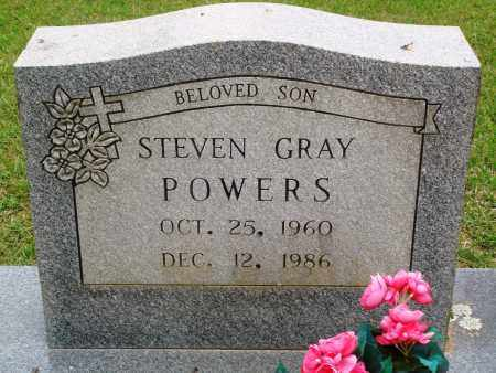 POWERS, STEVEN GRAY - Perry County, Arkansas | STEVEN GRAY POWERS - Arkansas Gravestone Photos